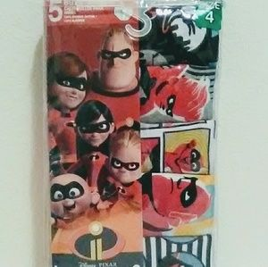 Disneys Pixar Incredibles 2 Boys Underwear Size 4